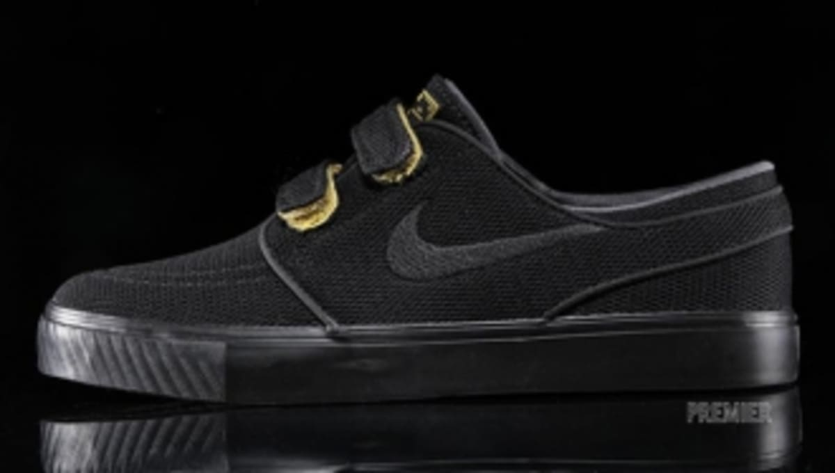 promo code f62b7 74ee9 Nike SB Stefan Janoski Velcro - Black Yellow   Sole Collector