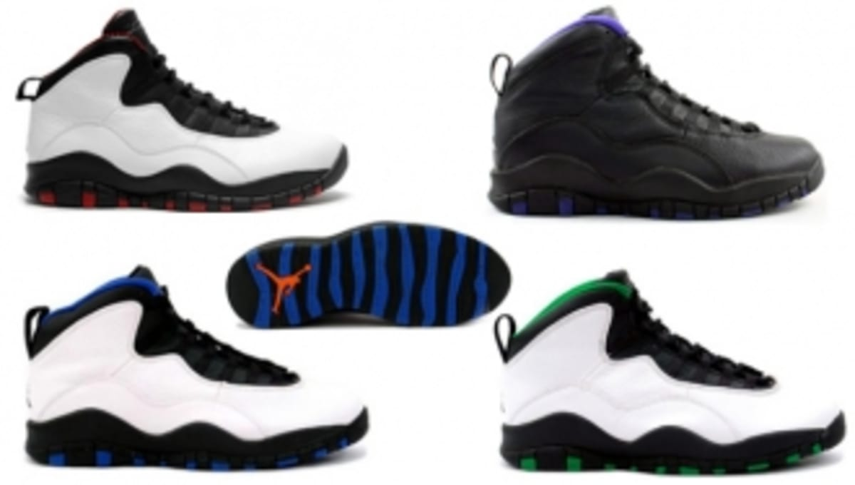 fe782d36c8a8fb A Brief History of the Air Jordan X  City Series