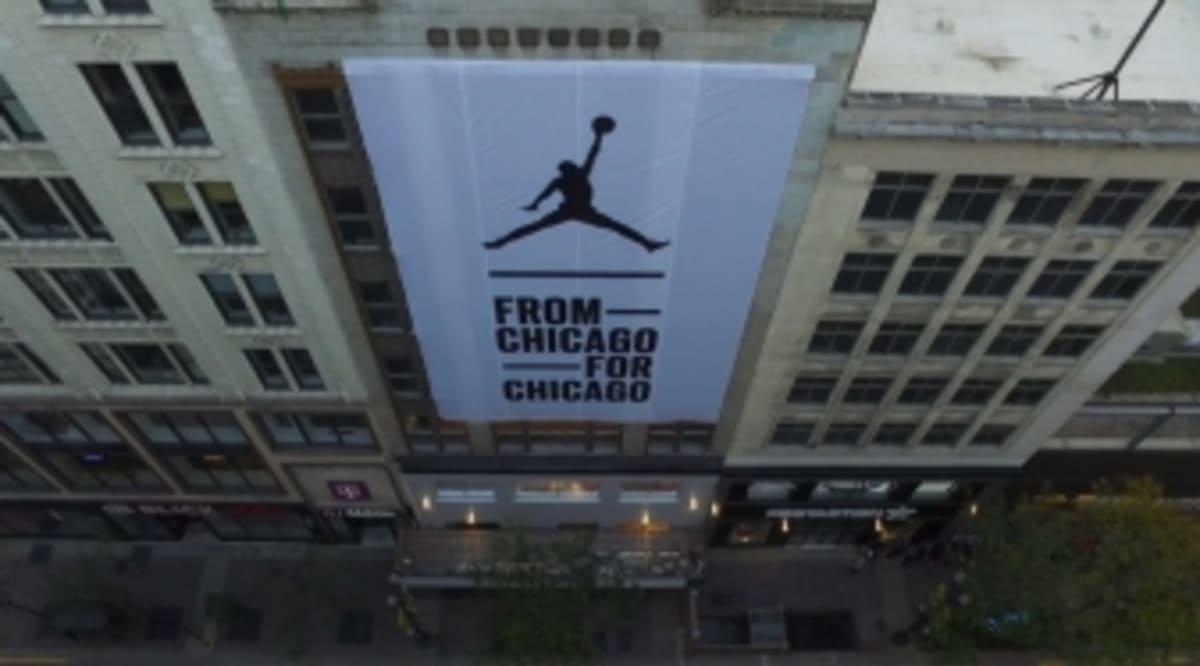 Michael Jordan s New Chicago Flagship Store Will Open Its Doors Soon ... 362b0f212