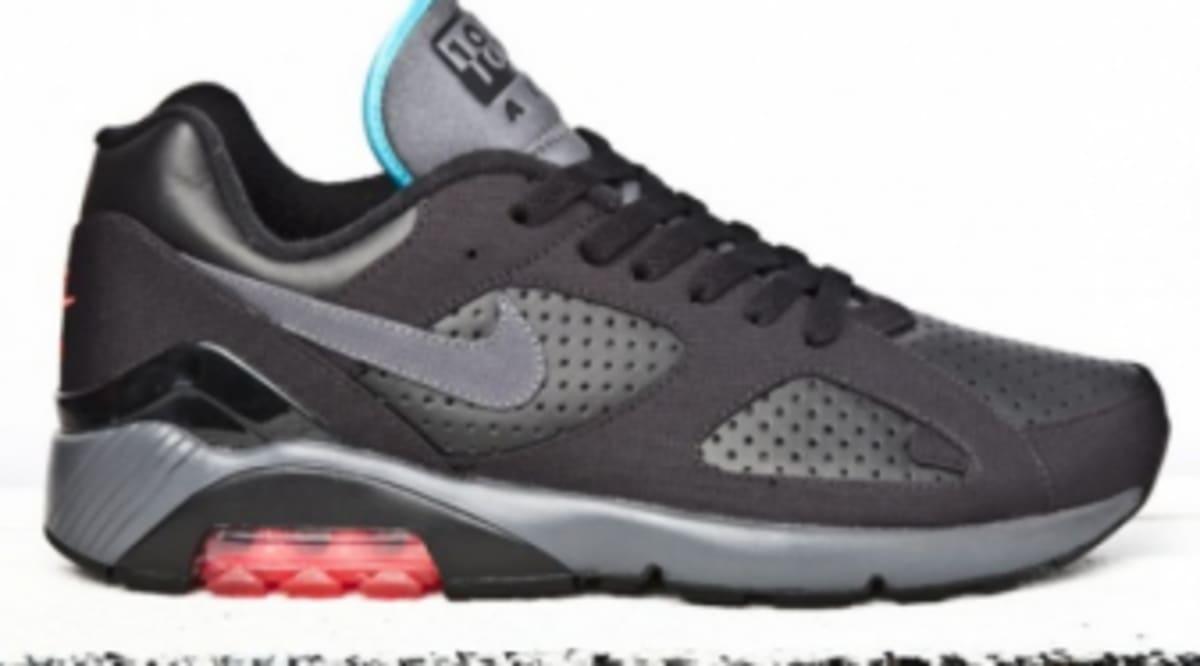 Nike Air 180 - Black Alarming Blue-Red  ac0ef014b6bb