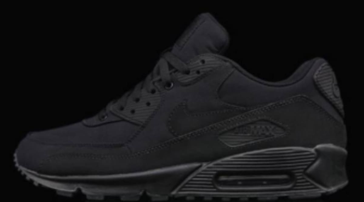 Nike Air Max 90 Black Ripstop Sole Collector