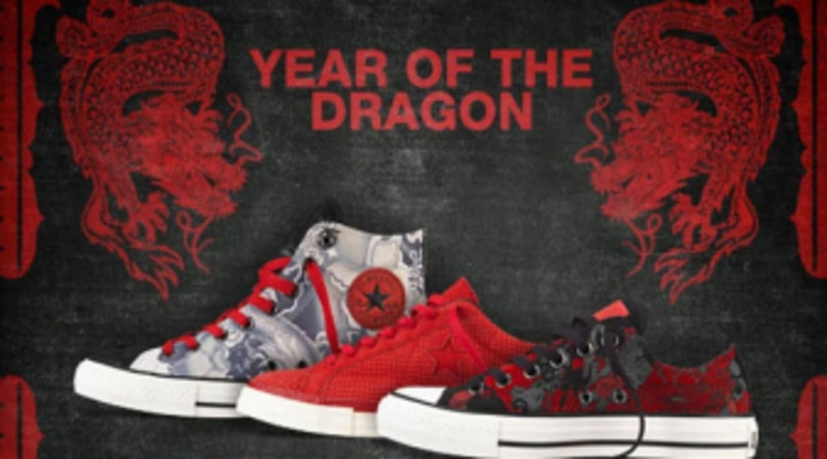 Converse Year Of The Dragon Chinese New Year Collection