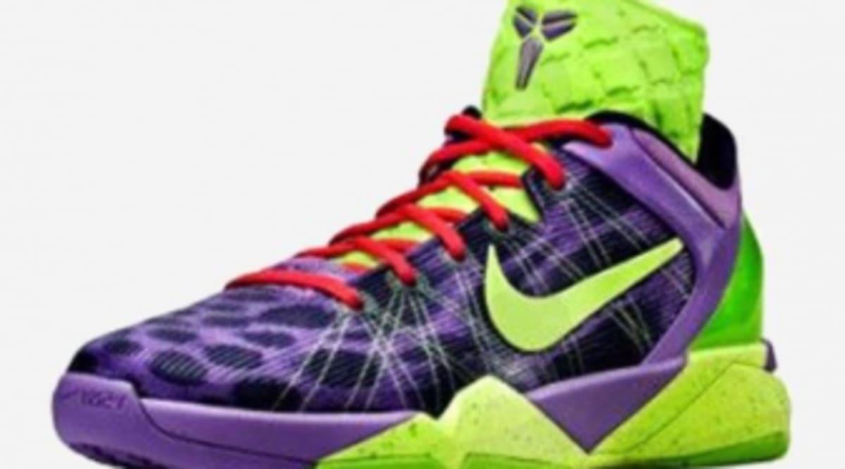 62cdb3933e73 Nike Kobe VII Supreme - Christmas Day