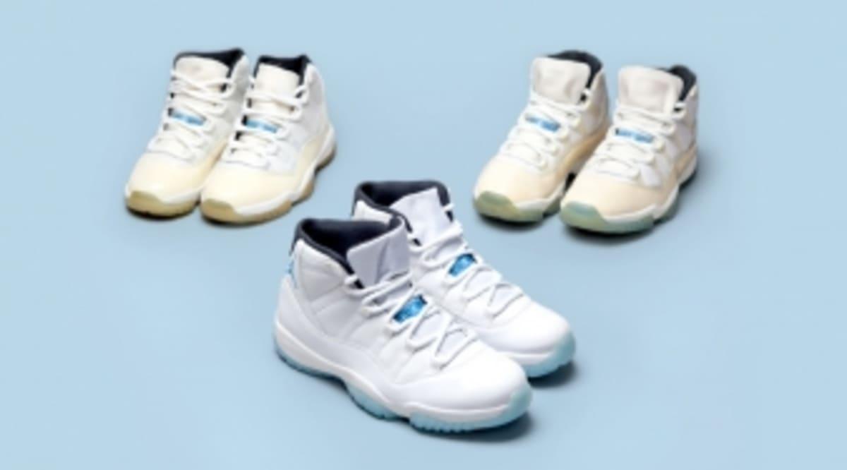 "How Does the ""Legend Blue"" Jordan 11 Compare to the Original?"