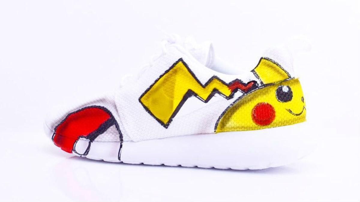 f6347daed3e Pokemon Nike Roshe Run Custom