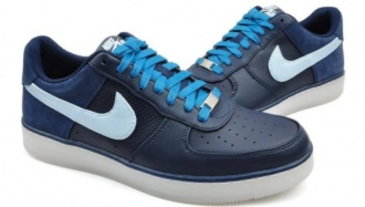 huge selection of 580c5 256a5 Nike Air Force 1 Downtown - Obsidian Barely Blue   Sole Collector