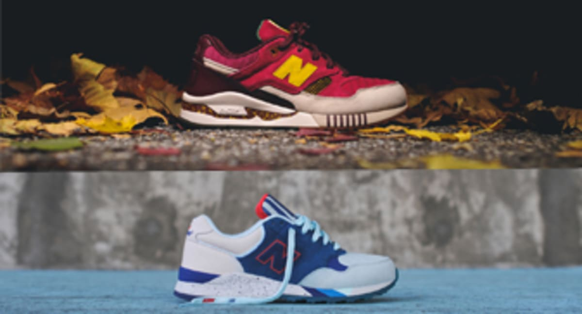 best service d7696 5f48c Release Date  Ronnie Fieg x New Balance  NYC  Pack   Sole Collector