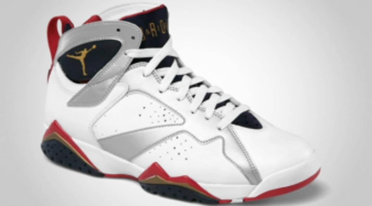online retailer fd710 912e2 Air Jordan Retro 7 - Olympic - Official Images   Sole Collector