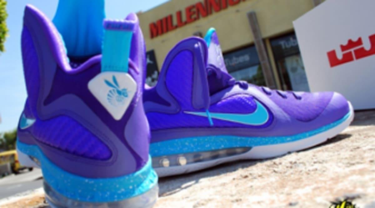 99e6b254fd81f Nike LeBron 9 - Summit Lake Hornets - New Images