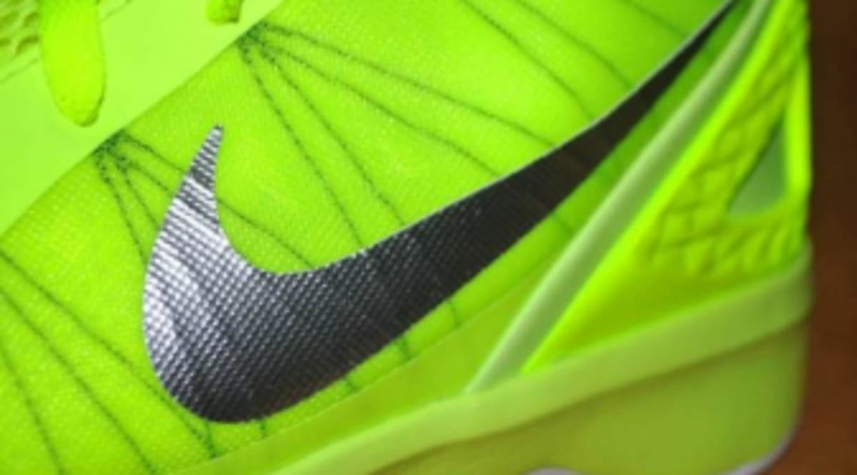 newest 5f65b d8a04 Nike Zoom Hyperdunk 2011 - Volt White-Black - New Images   Sole Collector