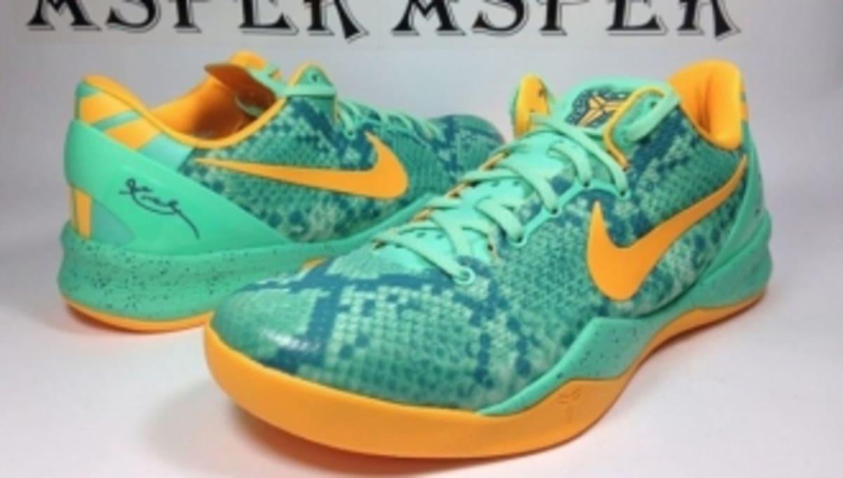 1142f13a8dc4 Nike Kobe 8 System - Green Glow