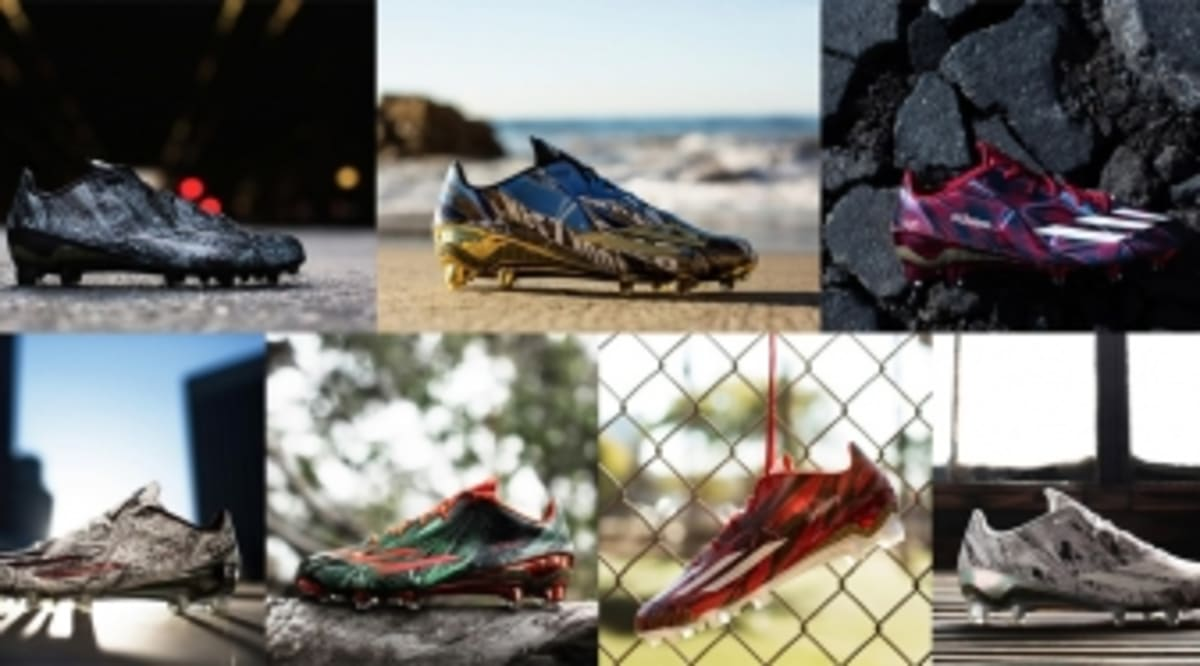 adidas Football Unleashes the 'Cleathead Collection'
