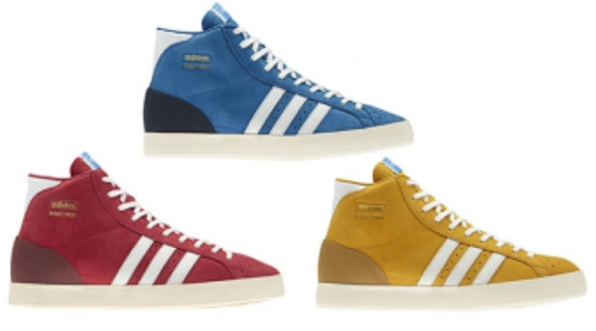 best service e1bd1 b77d9 adidas Originals Basket Profi - OG Pack - FallWinter 2012