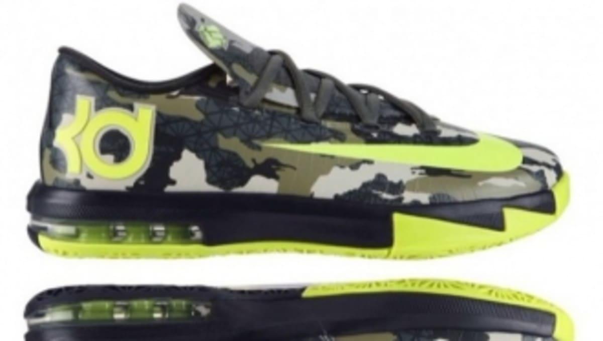best service 11908 22b79 Nike KD VI GS - Camo