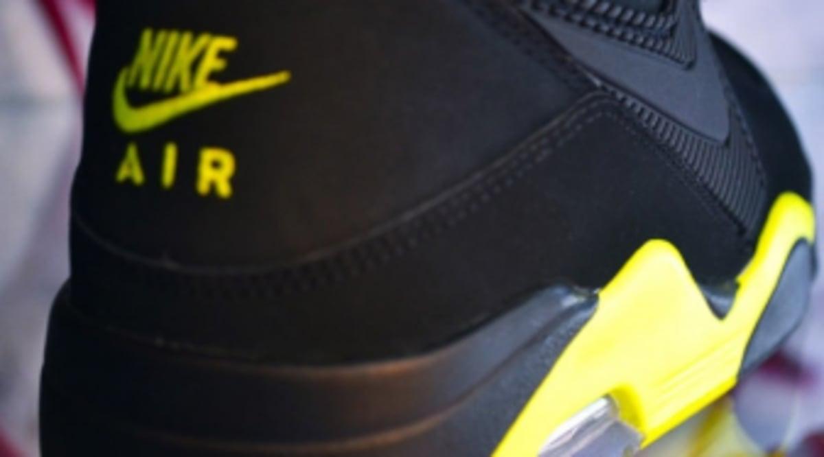 dd28b6c235 Nike Air Force 180 - Black/Volt | Sole Collector