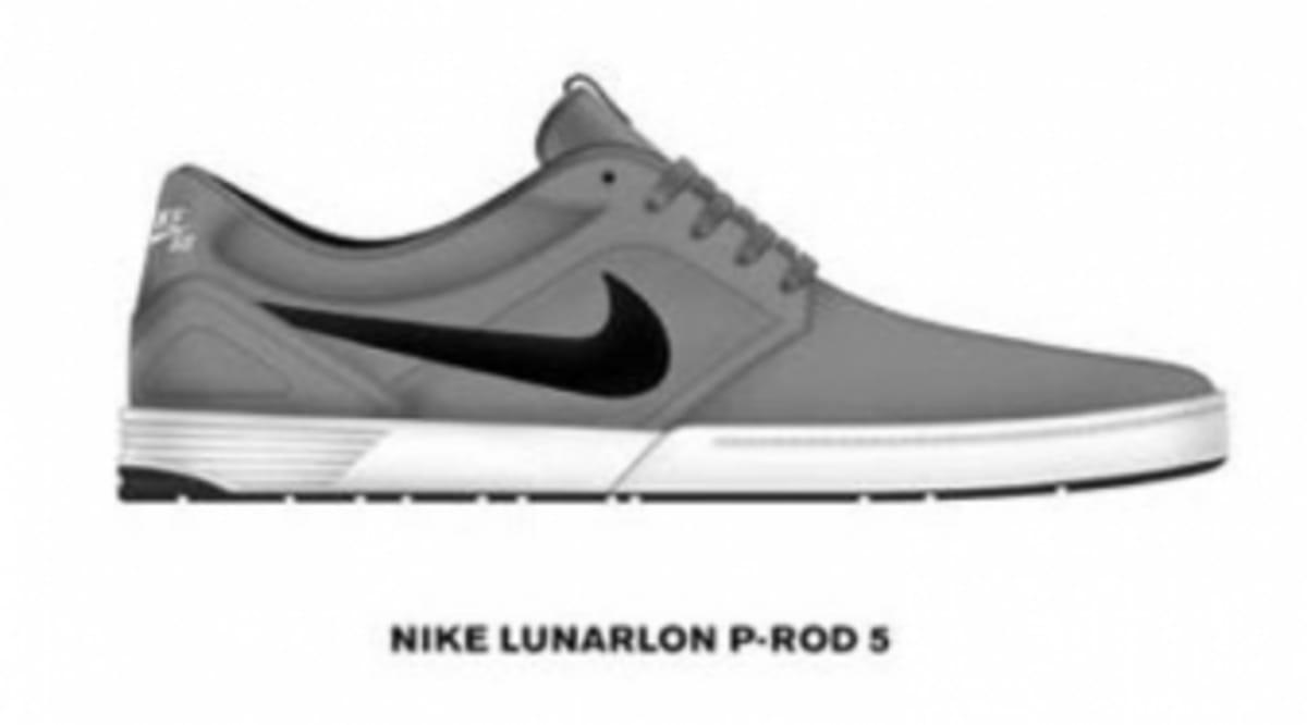 0e311079b2a6 First Look  Nike SB Lunarlon P-Rod 5