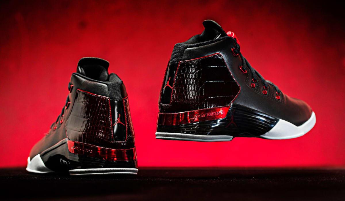 Jordan 17 Black Red | Sole Collector