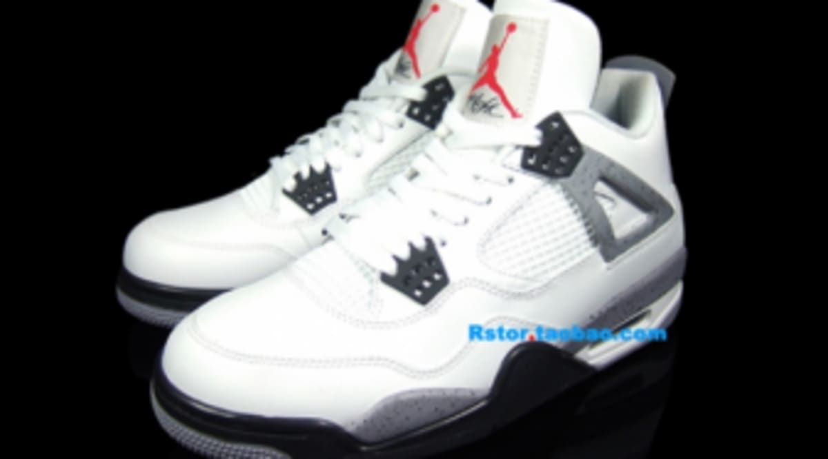 cc7fecc2553871 Air Jordan Retro 4 - White Cement - New Images