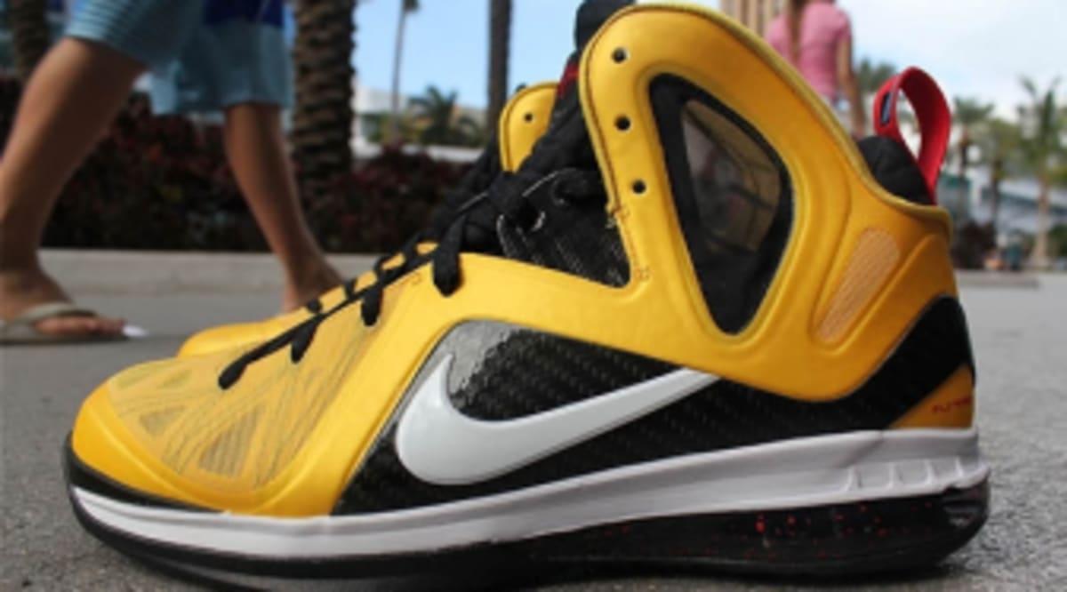 finest selection 19ad4 fb841 Nike LeBron 9 P.S. Elite - Varsity Maize White-Black-Sport Red