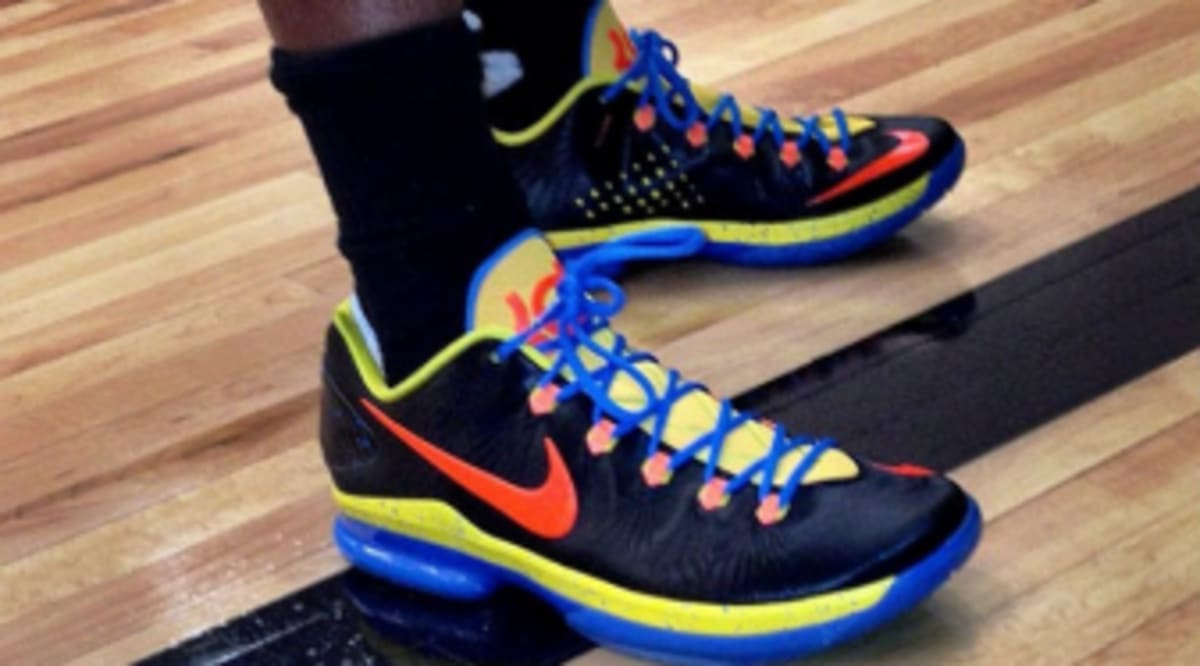 Nike KD V Elite - OKC Away  1d5cfcb2a