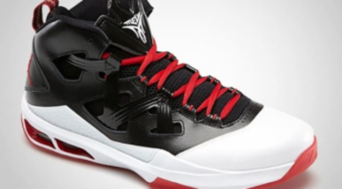 reputable site 82814 152ec Jordan Melo M9 - Black Gym Red-White   Sole Collector
