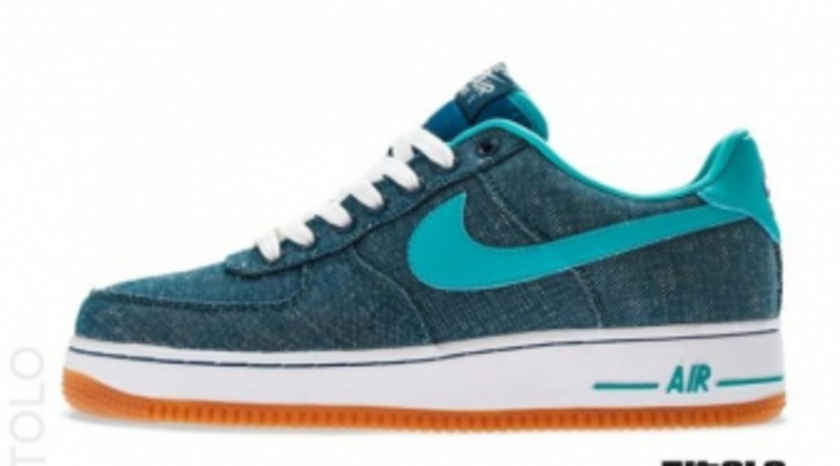 sale retailer 65856 13c2a Nike Air Force 1 Low Canvas - Squadron Blue | Sole Collector