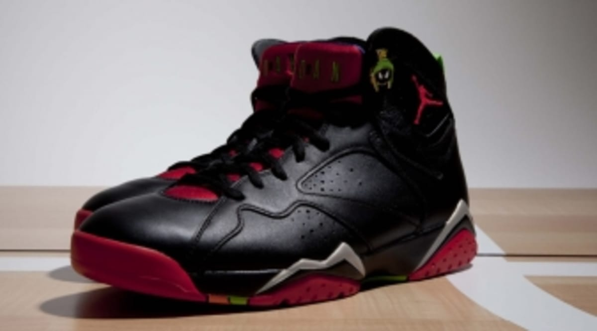 huge selection of 6fd30 bf201 Up Close With the  Marvin the Martian  Air Jordan 7   Sole Collector