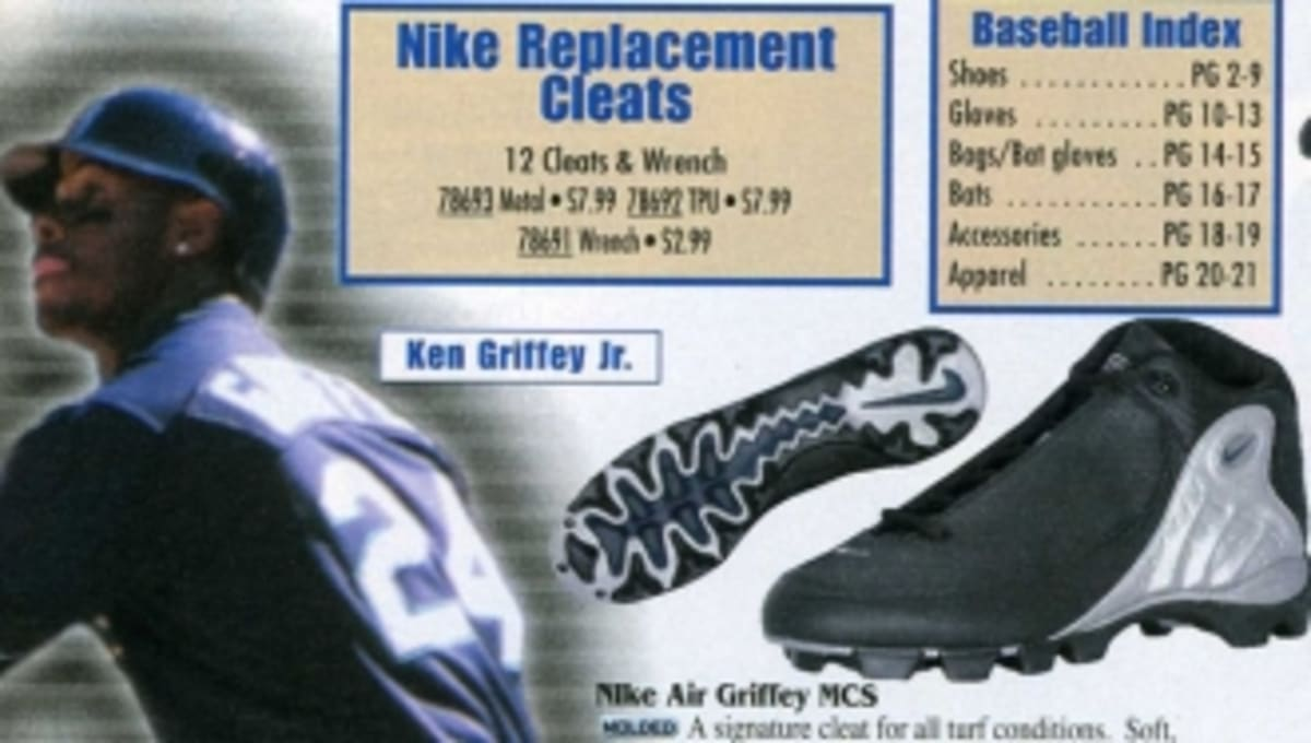 c7319b4405c Eastbay Memory Lane    Ken Griffey Jr. for Nike Baseball Spring 2000 ...