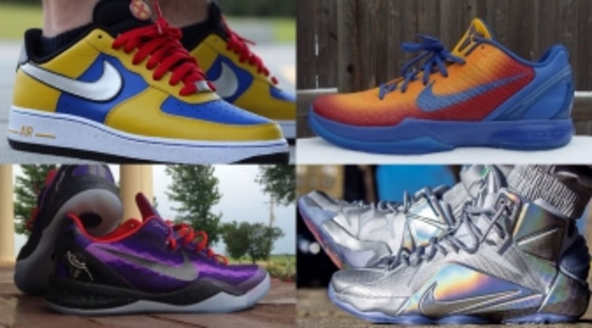 12e99a40b87f The 30 Best NIKEiDs Inspired by Superheroes
