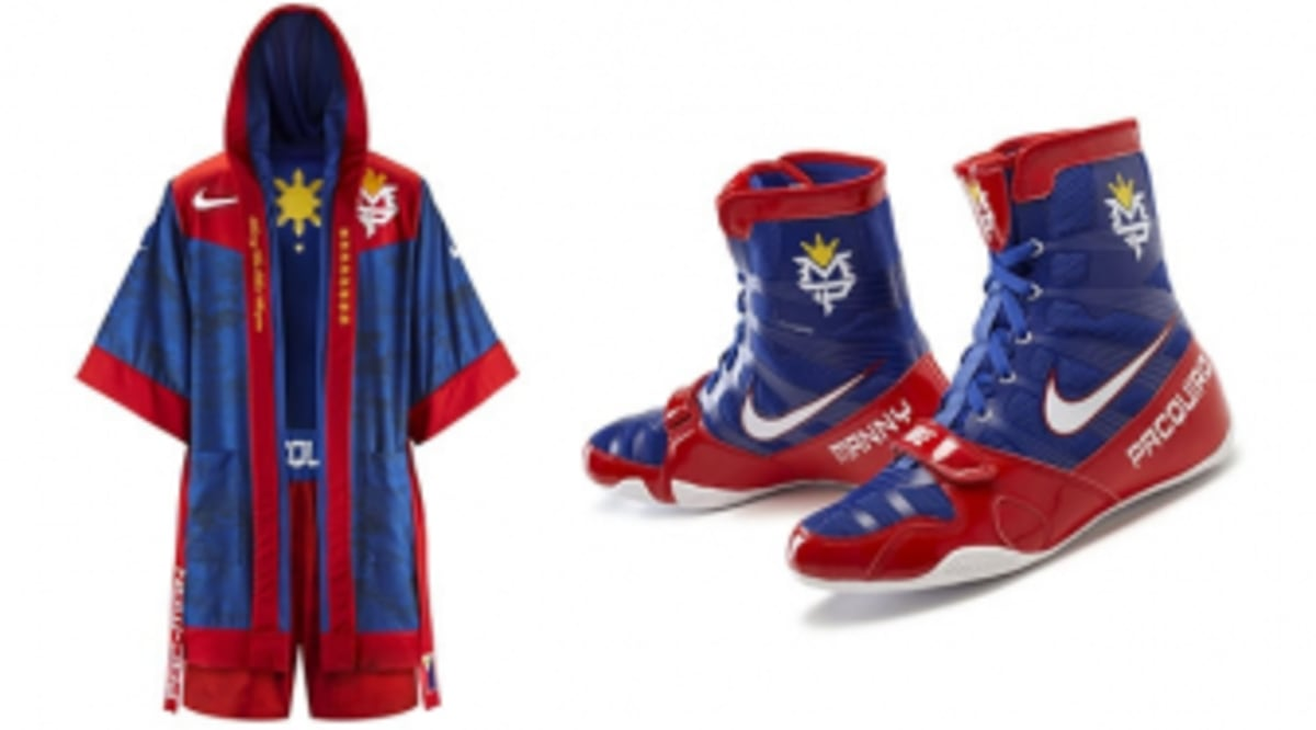 newest collection 9f4cb 2844d Nike Unveils Manny Pacquiao s June 9 Fight Night Gear