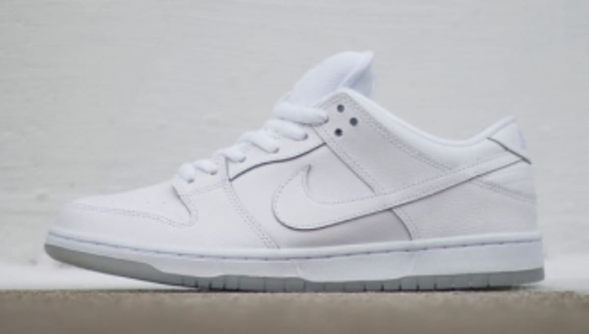 competitive price 199d1 5d78f Nike SB Dunk Low Pro in Almost All-White   Sole Collector