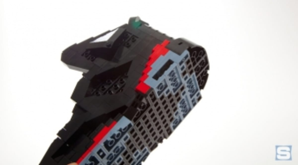 the best attitude 92683 b87d0 Brick by Brick  How One Guy Is Turning Legos Into Sneaker Art   Sole  Collector