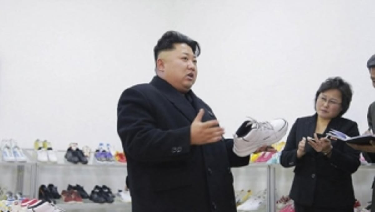 North Koreans Have Their Eyes on Kim Jong Un's Sneakers
