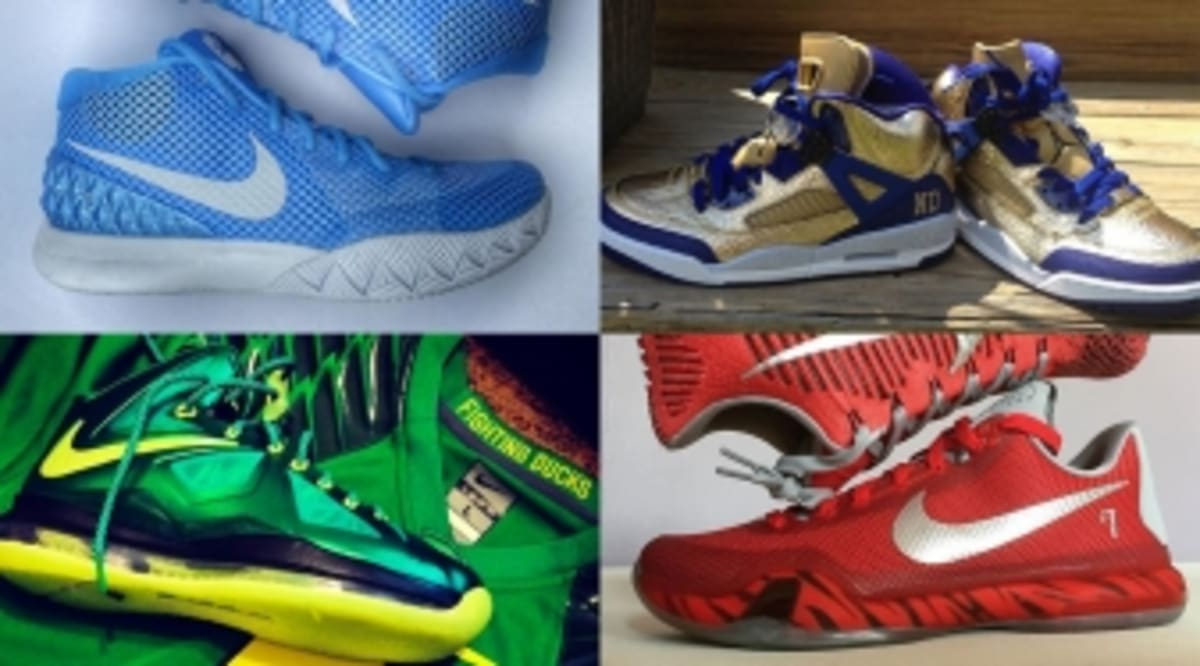 finest selection 95cfa b9b6a The 50 Best College-Inspired NIKEID Designs