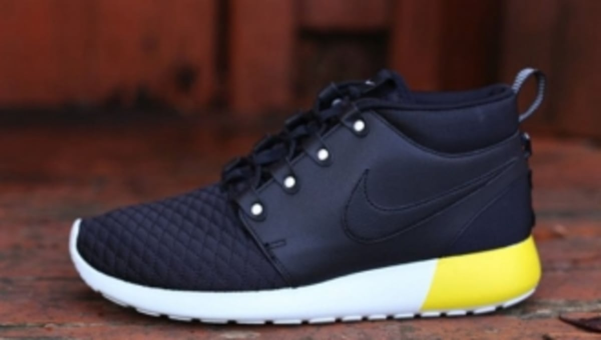 cb11745d1962 ... coupon for nike roshe run sneakerboot lthr black base grey sole  collector 44bc6 8b742
