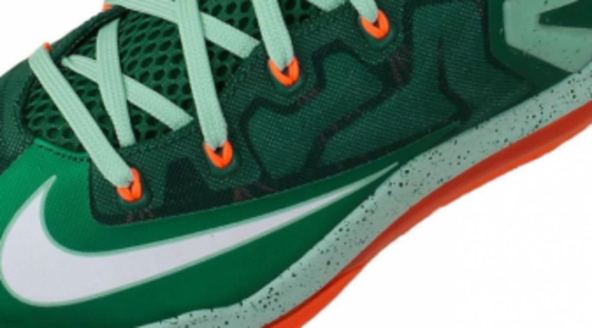 hot sale online 15420 093f6 Release Date  Nike LeBron 11 Low  Biscayne    Sole Collector