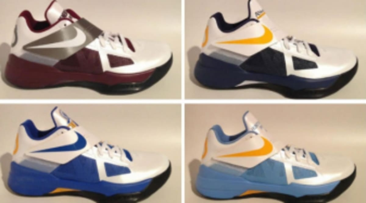 quality design 24482 a52c9 Nike Zoom KD IV Prep School PEs   Sole Collector