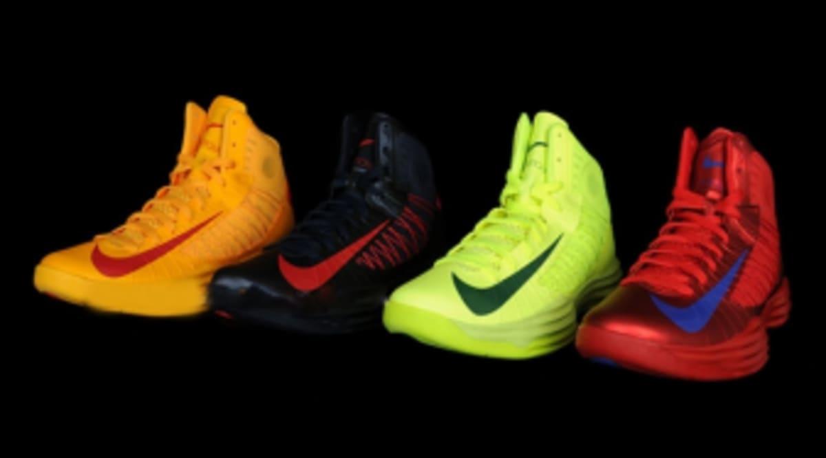 sale retailer 58092 5accd Nike Lunar Hyperdunk 2012 - Olympic Pack