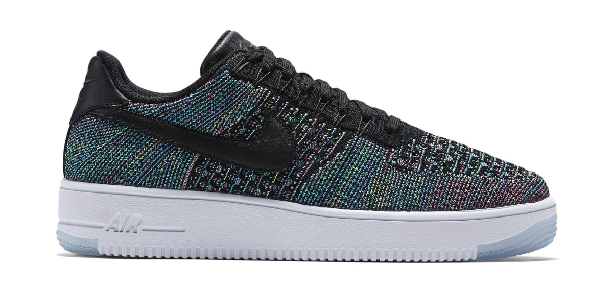 a51b372b50 Nike Flyknit Air Force 1 Multicolor Volt Pink   Sole Collector