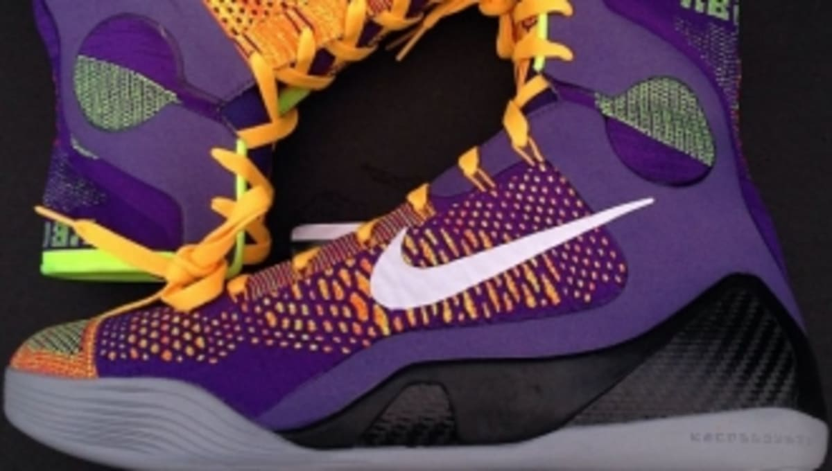 70edd5b874f New Photos of the Court Purple Laser Orange Nike Kobe 9 Elite