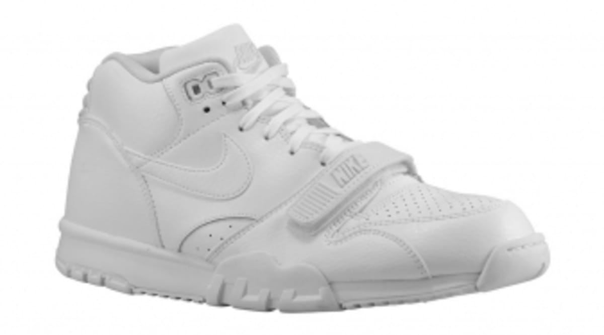 e8d8e5ab953 Nike Air Trainer 1s Jump on the White Sneaker Bandwagon