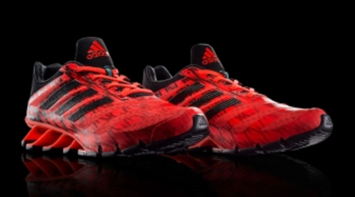 competitive price 99bad 31c1b Introducing the Heel-Only adidas Springblade Ignite   Sole Collector