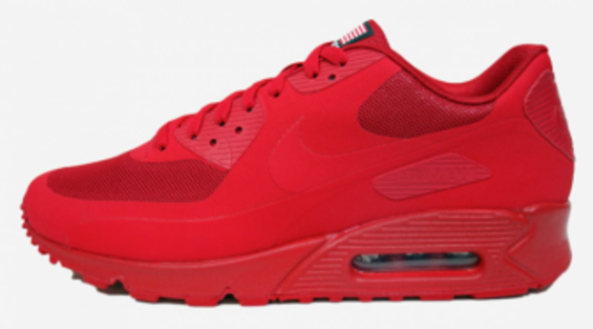 official photos 86cab d8b07 ... 4th of July Independence Day Sneakers 01O9GAIMR On Sale, Nike Air Max  90 Hyperfuse QS ...