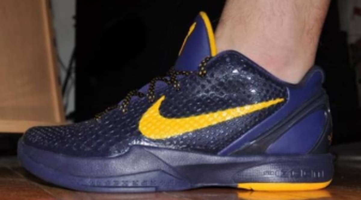 31d02a14a5a Nike Zoom Kobe VI - Imperial Purple Del Sol - First Look