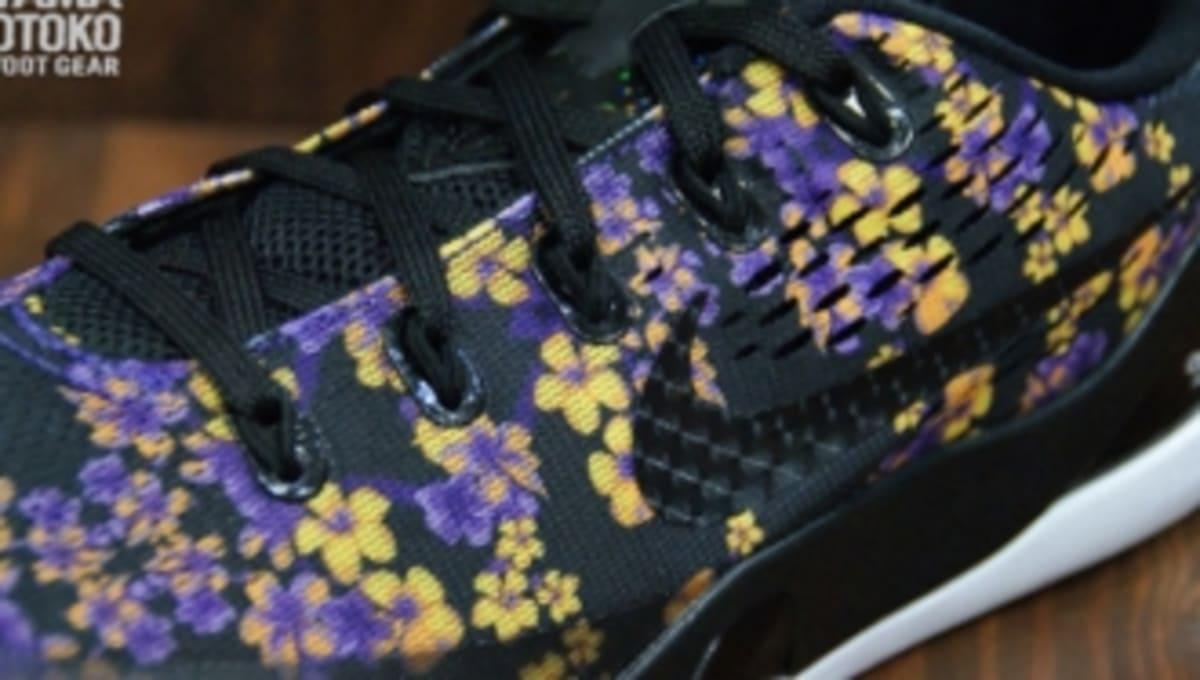 promo code c7286 ceea6 Nike Kobe 9 EM GS - Floral   Sole Collector