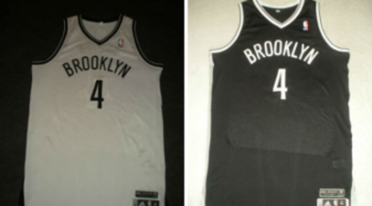 90ac8b5472b Autographed Jay-Z Brooklyn Nets Jerseys Being Auctioned Off | Sole ...