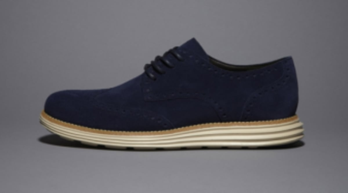 f4a1e1a0583 Cole Haan LunarGrand Wingtip - New Release | Sole Collector
