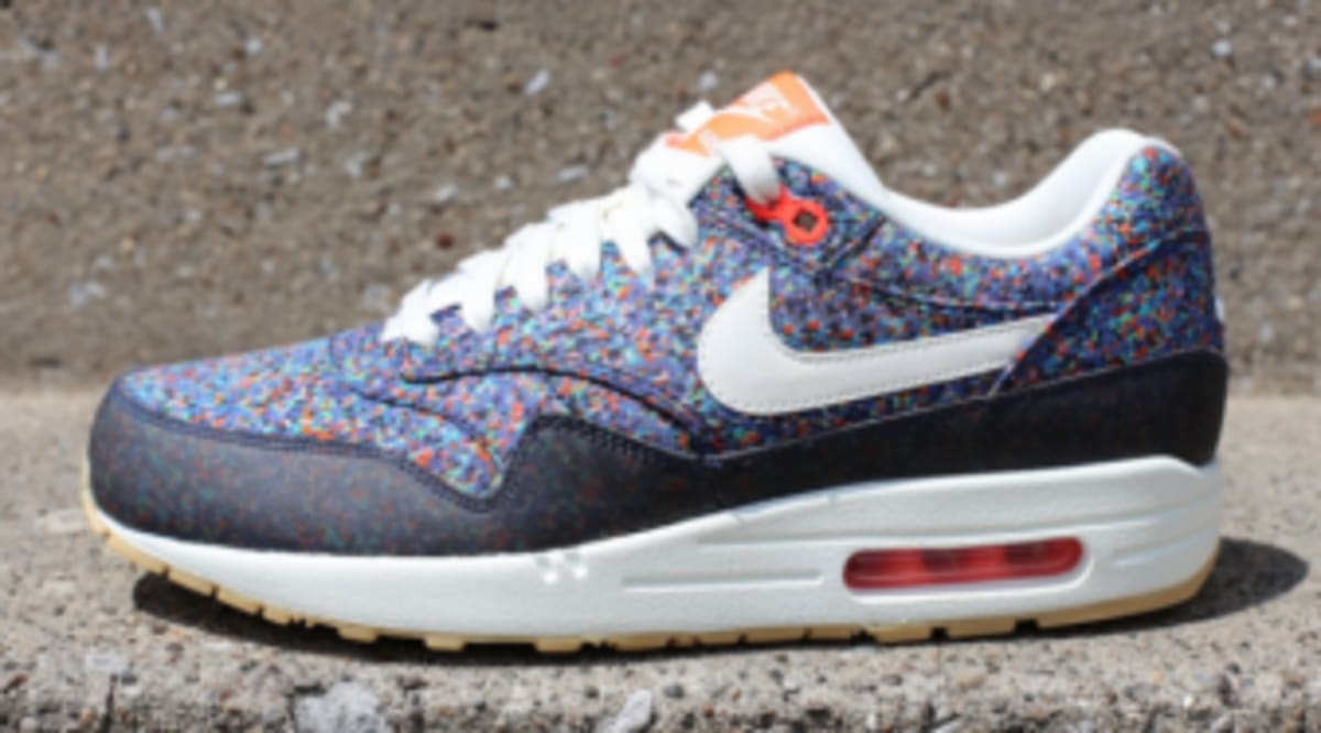 419c04b650b Liberty x Nike WMNS Air Max 1 ND - Hyper Blue   Total Crimson - New Images