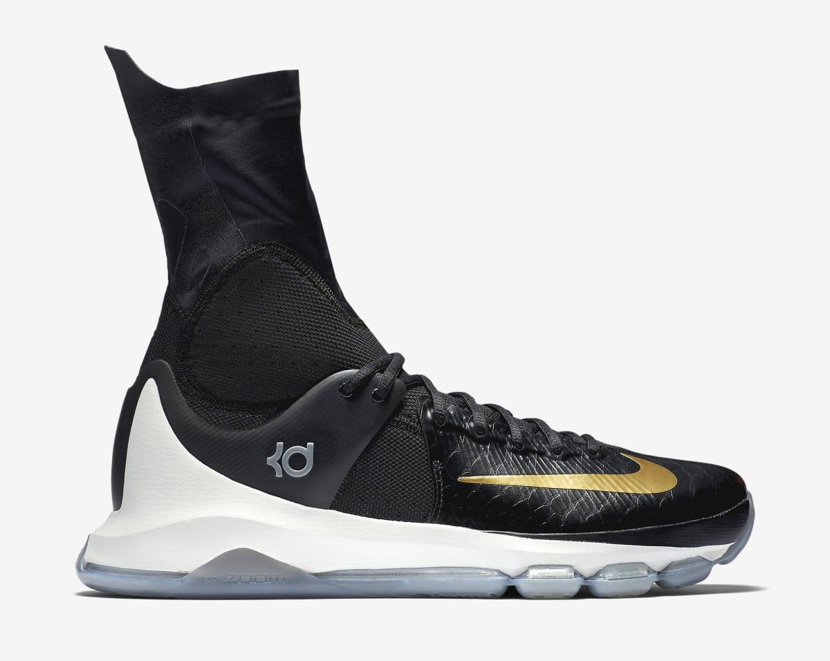 36e9b5895c36 Nike KD 8 Elite Black Gold