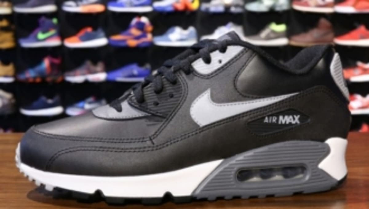 e781dd5e94 Nike Air Max 90 Essential - Black/Grey-Silver | Sole Collector